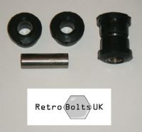 Anti Tramp Bar to Axle - Black Polyurethane Bushes PAIR - MK1 ESCORT